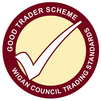 Member of the Wigan Good Trader Scheme
